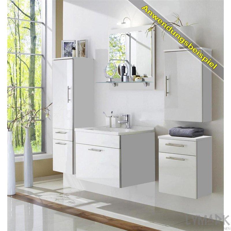 h ngeschrank montana hanna hochglanz wei wei sz. Black Bedroom Furniture Sets. Home Design Ideas